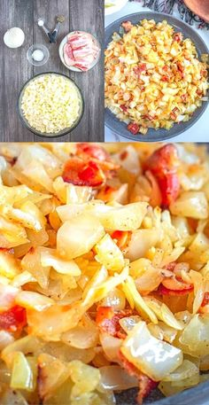 This delicious Fried Cabbage Recipe is a staple in our house. Whether you make it with fresh cabbage during the Spring or Fall you're going to love it!