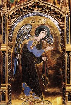 El arcángel Miguel, pintor desconocido