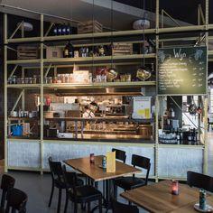 Het Kruispunt – Barendrecht | Hanratharchitect Foyer, Liquor Cabinet, Restaurant, Bar, Storage, Table, Furniture, Home Decor, Purse Storage