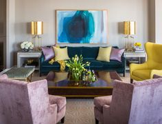 Rue Magazine Feature and a Before and After: Riverside Penthouse | Tobi Fairley