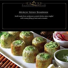 Murgh Seekh Bharwan https://www.facebook.com/gazeborestaurant?ref=hl