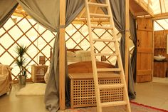 Luxury yurt on the Garlic Farm on the Isle of Wight. Sleeps up to 5.