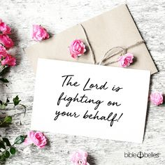 """""""The LORD will fight for you; you need only to BE STILL."""" —Exodus 14:14 . . . . . . . . #LettersToABBMama #BibleBelles #HeroesForHer #ItTakesAVillage #Motherhood #Mamahood #Parenting #MomsOfIg #UnitedInMotherhood #ModerhoodRising #ThisIsMotherhood #MomLife #MommyLife #MotherAndDaughter #FatherAndDaughter #DaddysGirl #InspireMothers #IGMotherhood #GotItFromHerMama #MomOfGirls #GirlMom #ChristianMoms #ChristianLiving #ChristianKids Christian Kids, Christian Living, Encouraging Scripture Quotes, Exodus 14 14, Fight For You, Word Of God, Encouragement, Lord, Place Card Holders"""