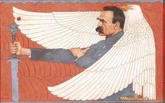 """12 maja 1935 r. zmarł Marszałek Józef Piłsudski. Ciało Marszałka spoczęło w krypcie na Wawelu. Serce, zgodnie z jego wolą - u stóp Matki, w grobie na wileńskiej Rossie, wśród żołnierskich mogił. Na płycie grobu, zgodnie z wolą Marszałka, słowa Juliusza Słowackiego: """"Kto mogąc wybrać, wybrał zamiast domu Gniazdo na skałach orła, niechaj umie Spać - gdy źrenice czerwone od gromu, I słychać jęk szatanów w sosen szumie... Tak żyłem"""""""