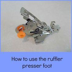 Very easy and soo useful: how to use the ruffler