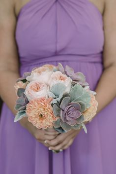 @janetdapo I love the succulents in the bouquet, too!