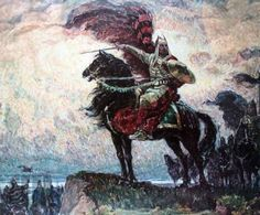 Asparukh of Bulgaria was ruler of a Bulgarian kingdom in the second half of the 7th century and is credited with the establishment of the First Bulgarian Empire in 680/681.