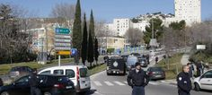 Police in Marseilles, France. (AP/Illustrative) -- ISIS Supporters Stab Jewish Teacher in Marseilles http://unitedwithisrael.org/isis-supporters-stab-jewish-teacher-in-marseilles/?
