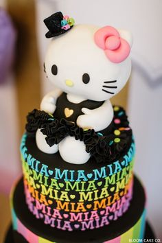 Hello Kitty Birthday Party   by Bloom Cake Co.
