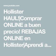 Hollister HAUL!|Comprar ONLINE a buen precio! REBAJAS ONLINE en Hollister|Aprendi a comprar ONLINE! - YouTube Youtube, Ireland, Youtubers, Youtube Movies