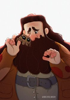 Lucas the Spider and Hagrid