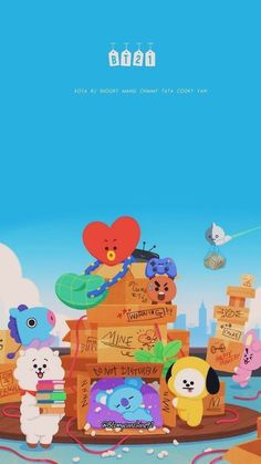 have dabbled in the arts of making a box fort have dabbled in the arts of making a box fort - BTS Wallpapers Bts Chibi, Cartoon Wallpaper, Bts Wallpaper, Bts Pictures, Photos, Bts Backgrounds, Line Friends, Bts Drawings, Bts Lockscreen