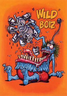 Rat Fink Ed Big Daddy Roth - Wild Boiz | brocklyncheese | Flickr