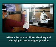 Automated Face Mask and Hand Sanitizer dispenser machine commissioned at Nagpur and Patna Station, ATMA machine at Hyderabad to maintain social distancing
