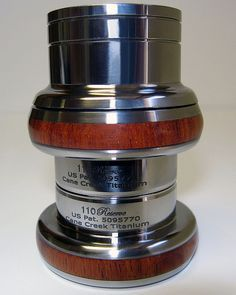 Cane Creek titanium wood inlay headset