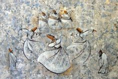 World's All Amazing Things, Pictures,Images And Wallpapers: Ebru Art - Turkish Art of Ebru - Turkish Marbling Art Information