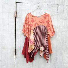 medium  plus   Upcycled clothing / Patchwork Dress / by CreoleSha, $87.99