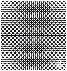 """Rustico Tile & Stone 8"""" x 8"""" Circulos Cement Tile in Matte Black and White & Reviews 