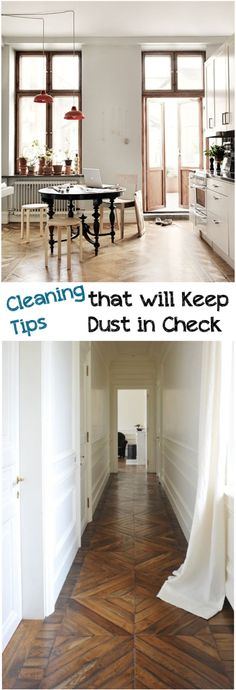 Cleaning Tips that will Keep Dust in Check