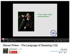 La neuroscienza delle imprecazioni / The language of swearing