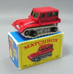 Matchbox the Snow Cat- one of my favorites as a kid.. heck, even now! :-)