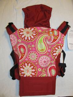 Canvas - Abby's Lane Exclusive 'PAIGE' Tula Baby Carrier; Released July 2014