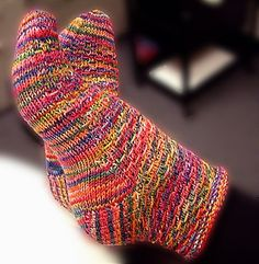 These socks look fun to knit.