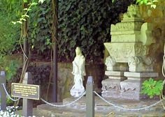 Mahatma Gandhi World Peace Memorial - A portion of Mahatma Gandhi's ashes are sealed in the above sarcophagus located at the Self Realization Fellowship Temple; Lake Shrine [Started by Parmahansa Yogananda] in Pacific Palisades, CA - Flickr - Photo Sharing!
