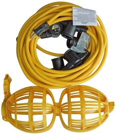 Construction String Lights Coleman Cable 07145 Temporary String Lighting  Electrical