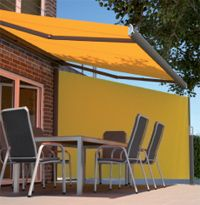 790 Side Awning With Angled Top