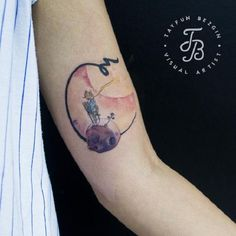 Soft colors of this tattoo and instructive words from book can only enrich your life.