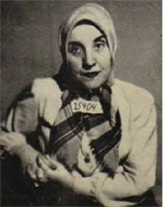 Gisella Perl,a successful Jewish gynaecologist in Romania in the 1930s and 40s.She was taken to Auschwitz in 1944,where she treated women with kindness and compassion.She was asked to report all pregnant women to Josef Mengele- better known as the Angel of Death.When she discovered what was done to them (medical experimentation and torture,ending with often being thrown alive into the crematoriums)she vowed that there would never again be a pregnant woman in Aschwitz.So she began the abortions.