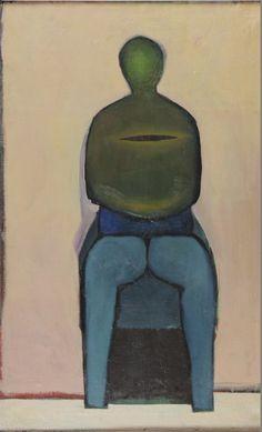 "ymutate: "" Andrzej Wróblewski 1927-1957 Woman 1957 oil on canvas 110x70cm """