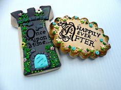 Once Upon a Time & Happily ever After Cookies