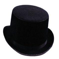 Black Top Hat #Black #Top #Hat