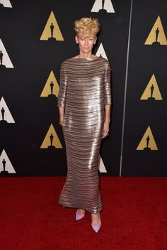 Academy Of Motion Picture Arts And Sciences' 2014 Governors Awards - Tilda Swinton