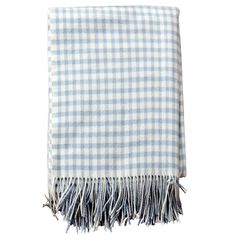 I pinned this Gingham Lambswool Throw from the Woolen & Cashmere Treats event at Joss and Main!