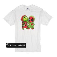 666742c8a Best friends Grinch and Deadpool Christmas t shirt
