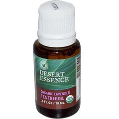 Desert Essence Oil Lavender and Tea Tree  06 fl oz *** Check this awesome product by going to the link at the image.