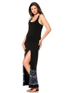 0bac8ffc41 L Space A Pea in the Pod Embroidery Maternity Swim Cover-up Maternity Swim