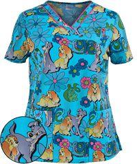 Print Scrub Tops for Women: Large Selection and Discount Pricing by UA Veterinary Scrubs, Medical Scrubs, Nursing Scrubs, Scrubs Outfit, Scrubs Uniform, Pediatric Scrubs, Pediatric Radiology, Disney Scrubs, Cute Scrubs