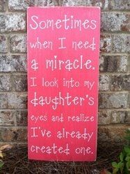 my miracle....