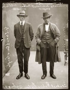REAL GANGSTERS CIRCA 1920'S