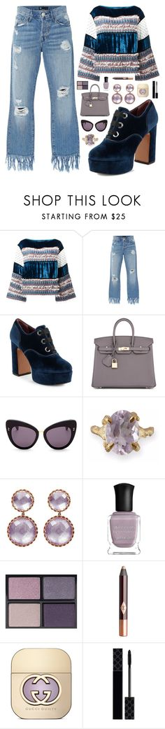 """""""Untitled #1953"""" by noahollander ❤ liked on Polyvore featuring See by Chloé, 3x1, Marc Jacobs, Hermès, STELLA McCARTNEY, Chupi, Deborah Lippmann, Tom Ford, Charlotte Tilbury and Gucci"""