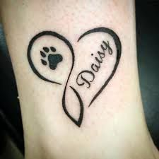 Image result for paw print tattoo