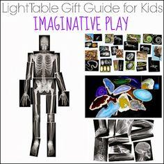 Guide cadeaux Table lumineuse pour les enfants: le jeu imaginatif de Et Vient ensuite L