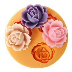 Soft Silicone Flower Chocolate Muffin Jelly Handmade Soap Candle Mould DIY Maker | eBay