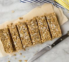 """From our blog: These Easy No-Bake """"Granola"""" Bars are perfectly loaded with the healthy fats and proteins you need for Phase 3. Plus, they make for a convenient on-the-go snack for you and your family!"""