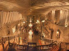 Wieliczka Salt Mine - Kinga chapel