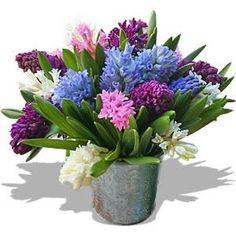 Centros de mesa con flores naturales   Decoracion